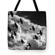Biplanes, C1917 Tote Bag