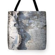 Birch Abstract 2 Tote Bag