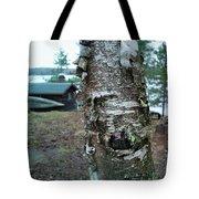 Birch Bark 3 Tote Bag