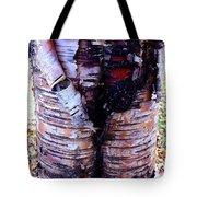 Birch Bark Closeup Tote Bag