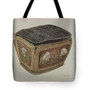Birch Bark Sewing Basket Tote Bag
