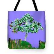 Birch Beach Michigan Tote Bag