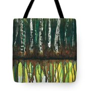 Birch Trees #3 Tote Bag