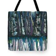 Birch Trees #4 Tote Bag