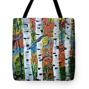 Birch Tree's Tote Bag
