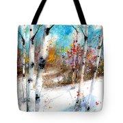 Birch Valley Tote Bag