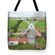 Bircham Windmill Tote Bag