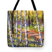 Birches 02 Tote Bag