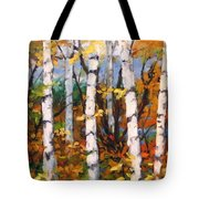 Birches 03 Tote Bag