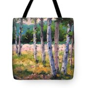 Birches 04 Tote Bag
