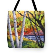 Birches 06 Tote Bag