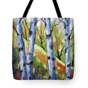 Birches 09 Tote Bag