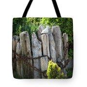 Bird And Pilings Tote Bag