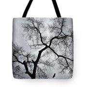 Bird And Tree Tote Bag