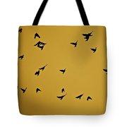 Bird Ballet Tote Bag