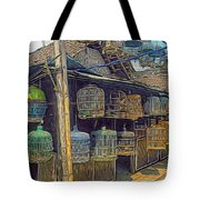 Bird Cages Vintage Photo Indonesia Tote Bag