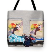 Bird Chairs Tote Bag