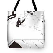 Bird Cover Tote Bag