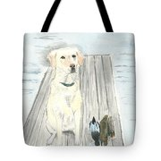Bird Dog Tote Bag