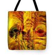 Bird Face Tote Bag