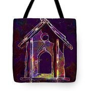 Bird Feeder Colorful Feeding Wood  Tote Bag