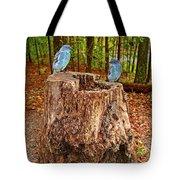 Bird Gossip Tote Bag