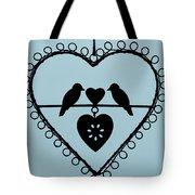 Bird Heart Tote Bag