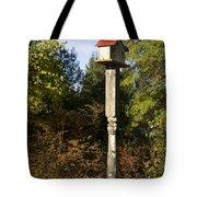 Bird House Tote Bag