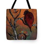 Bird I Wr Tote Bag