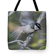 Bird In Action 2 Tote Bag