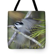 Bird In Action Tote Bag