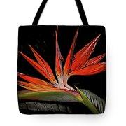 Bird In Flight Vivid Colors Tote Bag