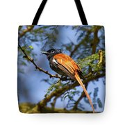 Bird In High Ground Tote Bag