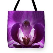 Bird In The Orchid Tote Bag