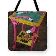 Barefootin' Table  Tote Bag