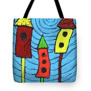 Bird Neighbors Tote Bag