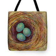 Bird Nest Tote Bag