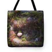 Bird Nest With Egg Tote Bag
