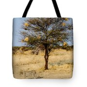 Bird Nests And A Cheetah Tote Bag