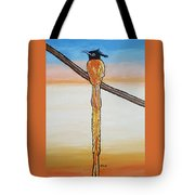 Bird Of Beauty, Golden Lady Tote Bag