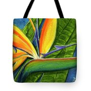 Bird Of Paradise #300b Tote Bag