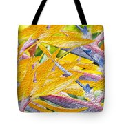 Bird Of Paradise Collage Tote Bag