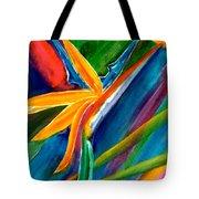 Bird Of Paradise Flower #66 Tote Bag