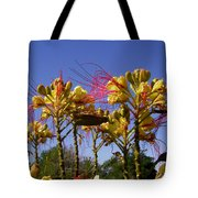 Bird Of Paradise Shrub Tote Bag