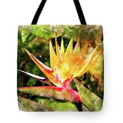 Bird Of Paradise Wc Tote Bag