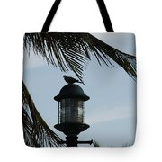 Bird On A Light Tote Bag