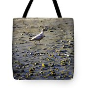 Bird On Beach Tote Bag