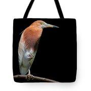 Bird On Black Tote Bag