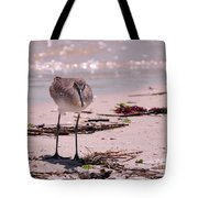 Bird On The Beach Tote Bag