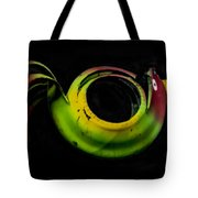 Bird Out Of An Old Car Tire Tote Bag